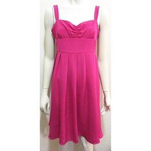 J. Crew 10P Pink Silk Rebecca Dress